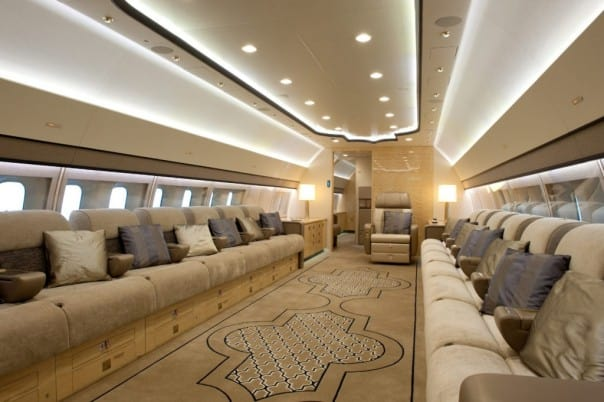Boeing business jets operated by only top private jet companies