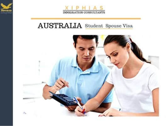 Australia is one of the countries that allow spouse to work on student visa