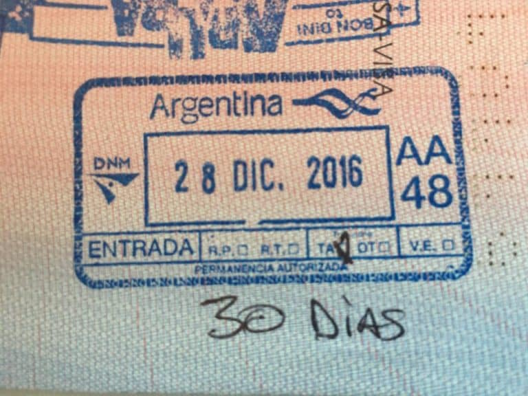Argentina visa requirement for Nigerians