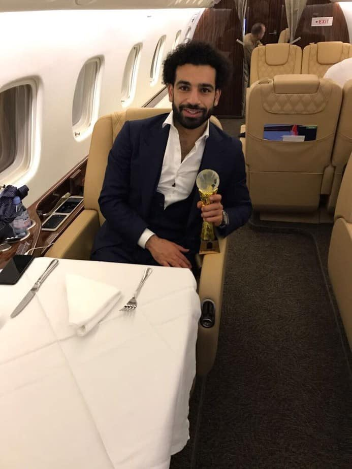 African footballers who own private Jets