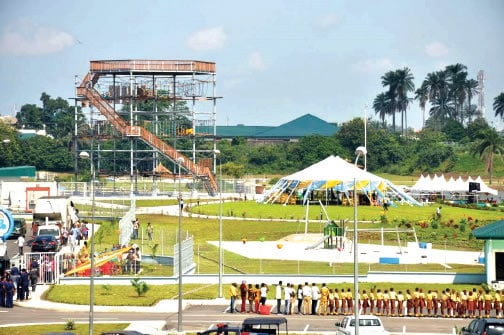 the most entertaining and fun places to hang out in Port Harcourt is Port Harcourt Pleasure Park