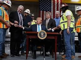 Trump Signs Executive Orders In Push To Make It Easier To Build Oil And Gas  Pipelines but Joe Biden's is expected to act on this bill