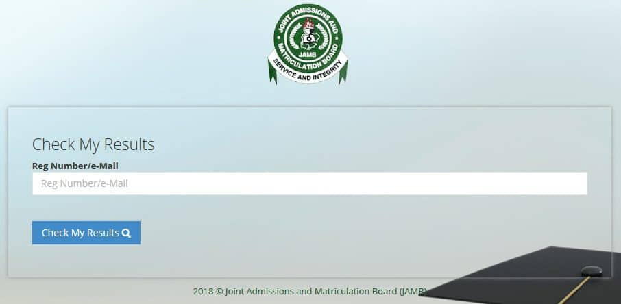 How to check JAMB result online and Print It through this page