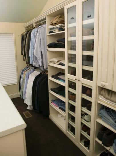 In a house sale, get your closet organized