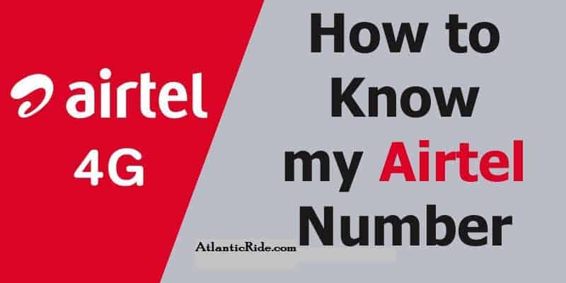 How To Check Your Airtel Number with USSD