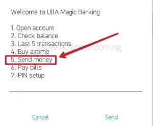 UBA Transfer Code and UBA Transfer code to Send Fund To Other UBA Account Holders.