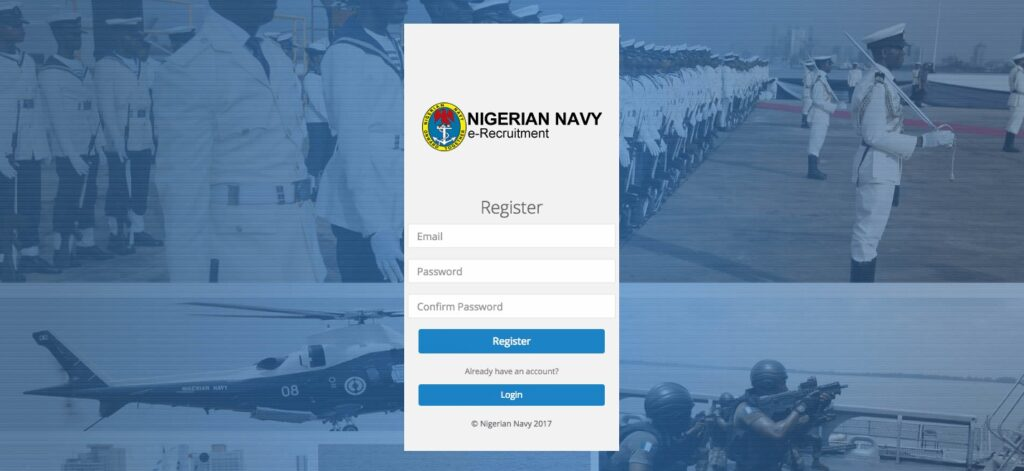 HOW TO APPLY FOR THE NIGERIAN NAVY RECRUITMENT ONLINE