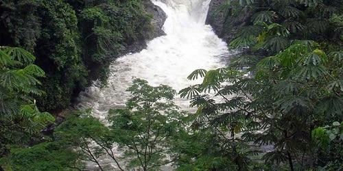 Kwa fall is an astonishing waterfall