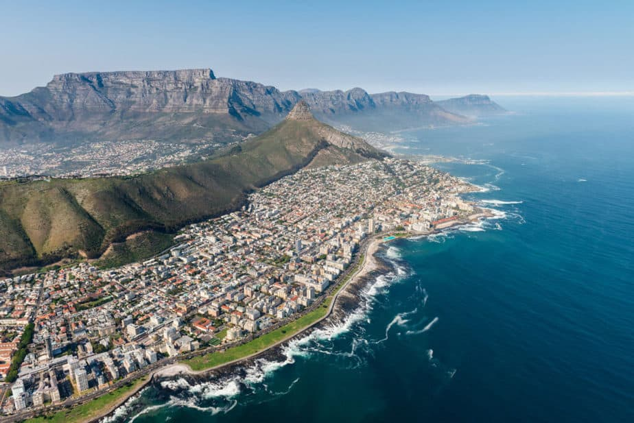 fourth largest province of South Africa is Cape Town