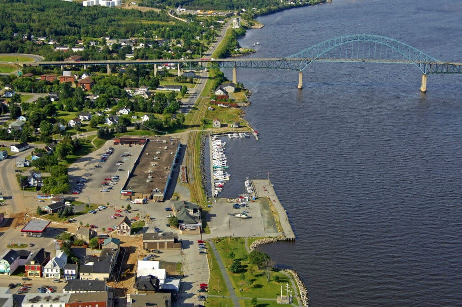 Miramichi is the largest city in the whole of North of New Brunswick.