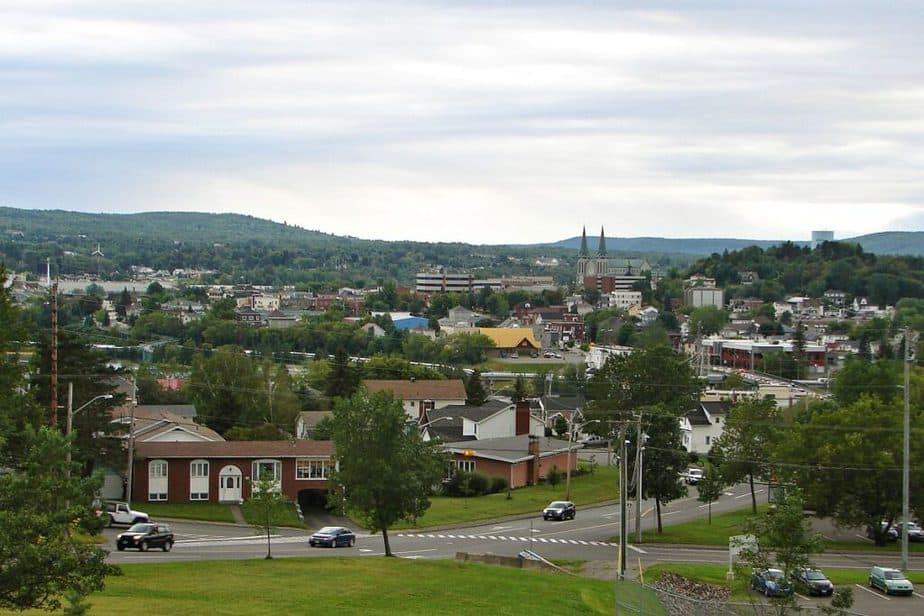 Edmundston town is one of the BEST PLACES TO LIVE IN NEW BRUNSWICK