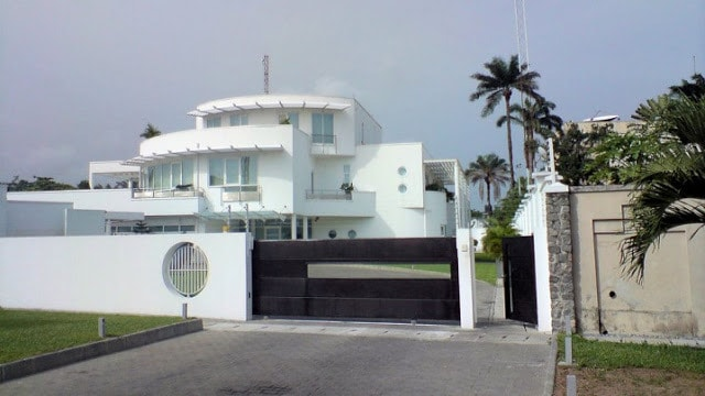 3rd most expensive house in Nigeria is owned by Aliko Dangote.
