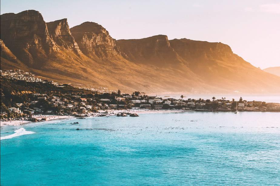 A beach in Cape Town