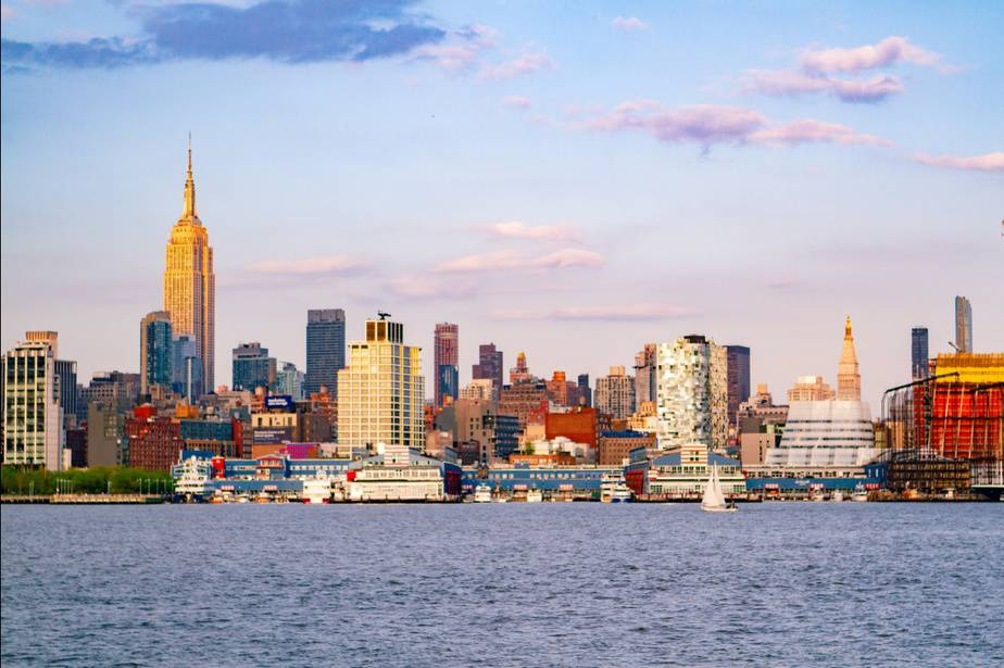 Skyline of New Jersey