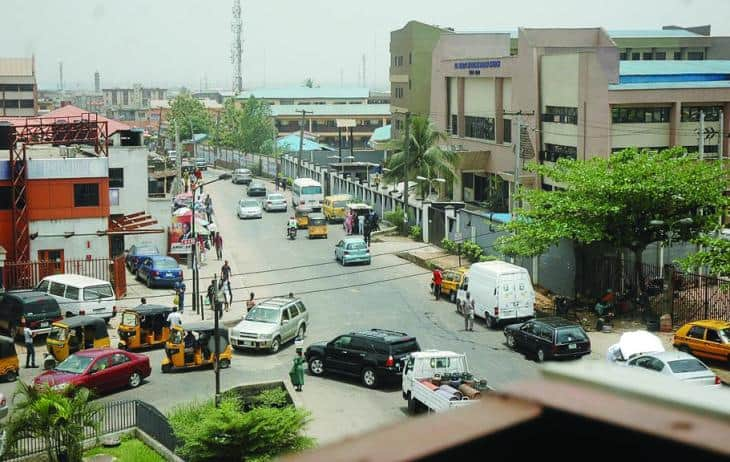Magodo lies toward the outskirts of Lagos