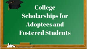 Scholarships for adopted children in the US