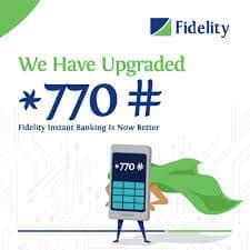 Fidelity Bank USSD transfer code