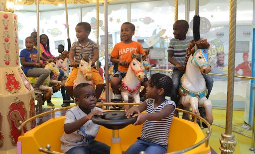 Fun World Entertainment center is a hangout spot in Lagos mainland that is Kid appropriate