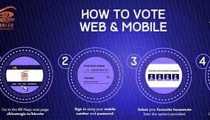 How to vote on Bbnaija season 6