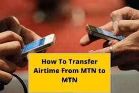 How to transfer airtime on MTN fast