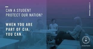 CIA internship for undergraduate students