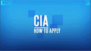 How to apply for CIA undergraduate internship program